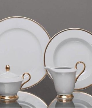 CRISTOFF -1831 Marie - Julie - Gold coffee service 6/15
