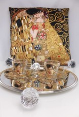 CARMANI - 1990 Gustav Klimt - Der Kuss -Kissen 45 x 45 cm