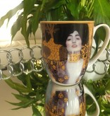 DELUXE by MJS Gustav Klimt Judith coffee cup in gift box