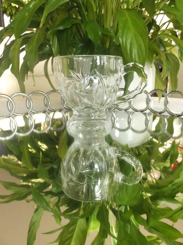 IRENA - 1924  Cappuccinotasse  groß  mit 3 verschiedenen Dekoren