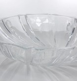 IRENA -  1924  Opulent serving bowl - Glass bowl with relief pattern
