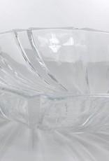 IRENA - 1924  Opulente  Servierschale  - Glasschale -     mit Relief Muster