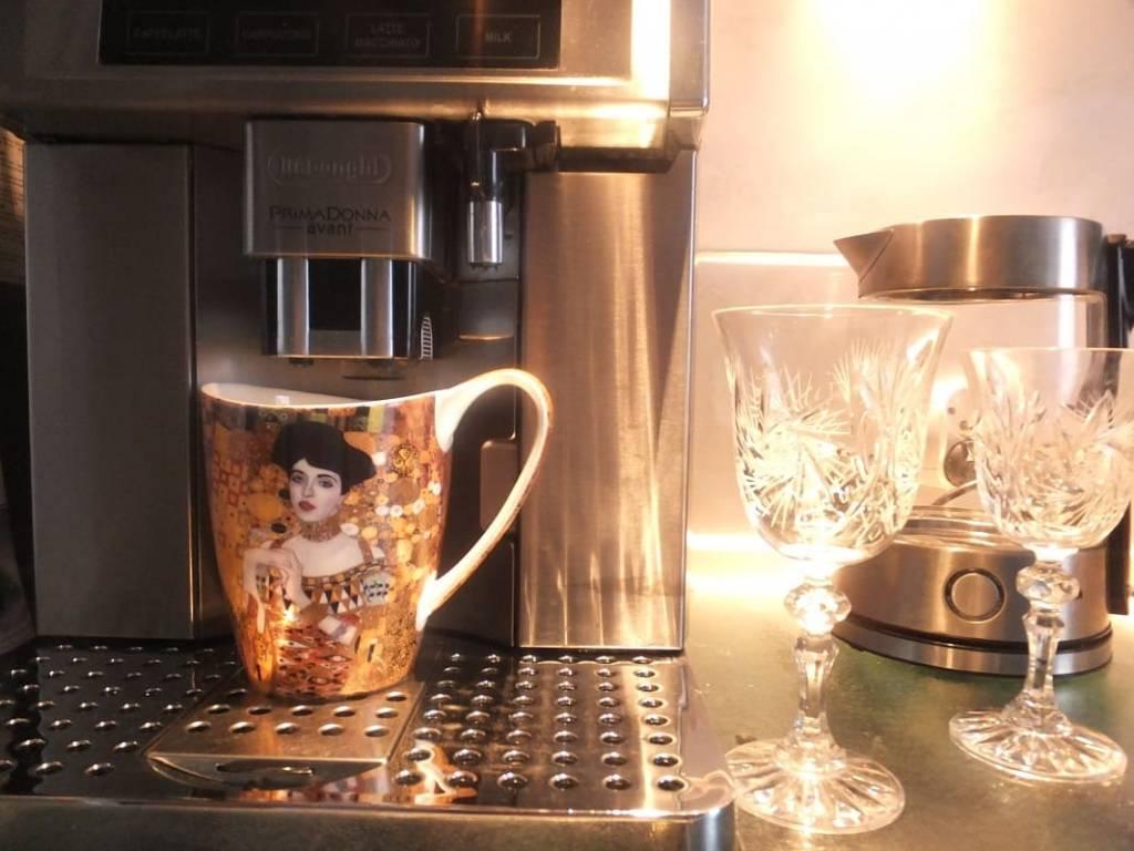 CARMANI - 1990 Gustav Klimt - Adele Bloch Bauer -Kaffeetasse Vanessa in Geschenkbox