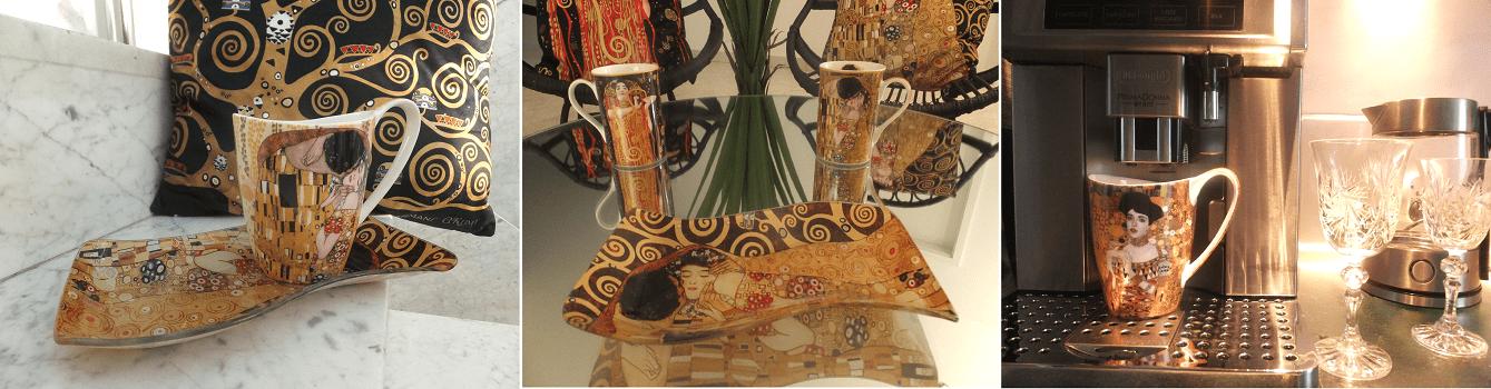 Gustav Klimt -stillvolle Geschenke für Business