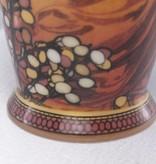 CARMANI - 1990 Alfons Mucha -  The Precious Stones  -Topaz  - XXL Kaffeetasse