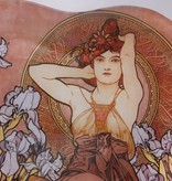 CARMANI - 1990 Alfons Mucha - Amethyst - Heart shaped decoration plate