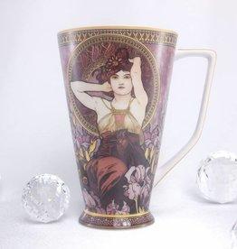 CARMANI - 1990 Alfons Mucha - Amethyst coffee mug XXL
