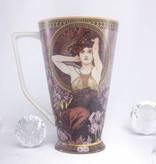 CARMANI - 1990 Alfons Mucha - The Precious Stones - Amethyst - XXL Coffee Mug