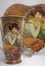 CARMANI - 1990 Alfons Mucha - The Precious Stones -Topaz - XXL Coffee Mug