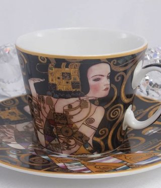 CARMANI - 1990 Gustav Klimt - Erwartung - Kaffeetasse Set