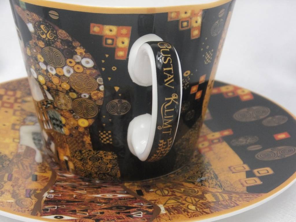 CARMANI - 1990 Gustav Klimt - Adele Bloch Bauer - Coffee Cup with Saucer