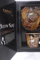 CARMANI - 1990 Gustav Klimt - Kaffeetasse  mit Untertasse - Adele Bloch Bauer