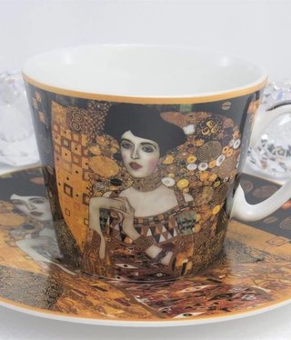 CARMANI - 1990 Gustav Klimt - coffee cup set -Adele Bloch Bauer