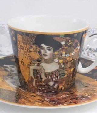 CARMANI - 1990 Gustav Klimt - Kaffeetasse  Set -Adele Bloch  Bauer