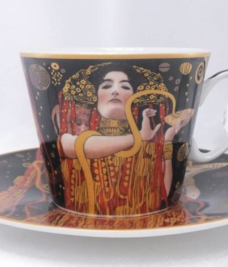 CARMANI - 1990 Gustav Klimt - Coffee Cup Set Hygieia
