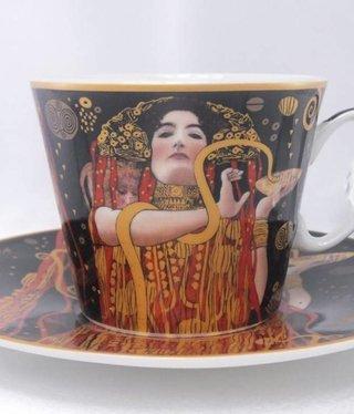 CARMANI - 1990 Gustav Klimt - Kaffeetasse Set Hygieia