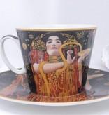 CARMANI - 1990 Gustav Klimt - Hygieia - Tasse mit Untertasse  - Geschenkbox