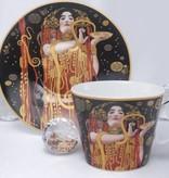 CARMANI - 1990 Gustav Klimt - Hygieia - cup with saucer - gift box
