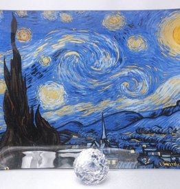 CARMANI - 1990 Van Gogh - Starry Night - glass plate
