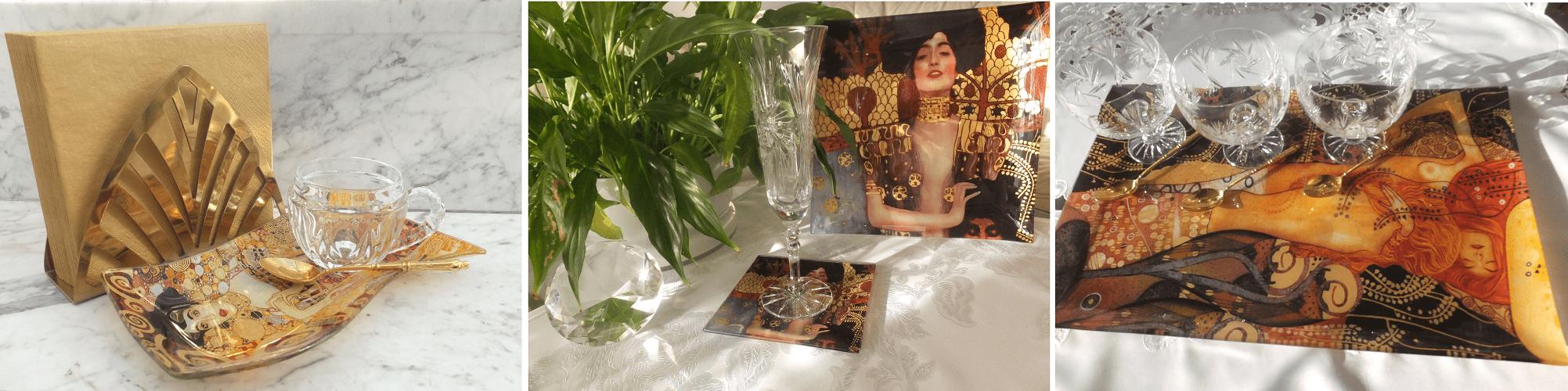 Gustav Klimt Der Kuss Kollektion DELUXE by MJS