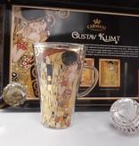 CARMANI - 1990 Gustav Klimt - Der Kuss - Latte Macchiato Gläser
