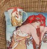 CARMANI - 1990 Alfons Mucha - Cushion - The Four Seasons - Summer