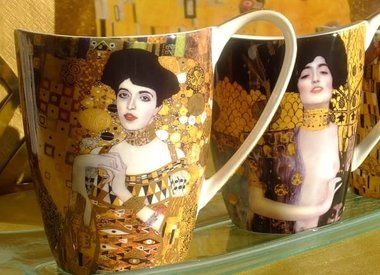 Gustav Klimt - porcelain & glass collection