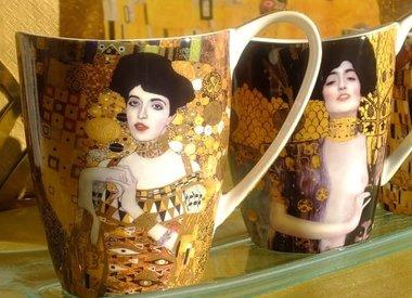 Gustav Klimt - Porzellan &  Glas Kollektion