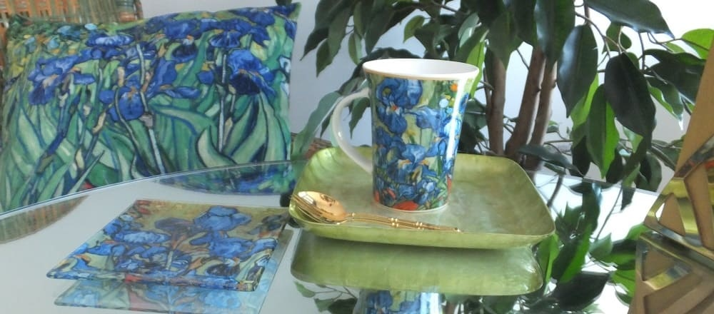Impressionists - Mugs with designs by Claude Monet, Auguste Renoir to Vincent van Gogh