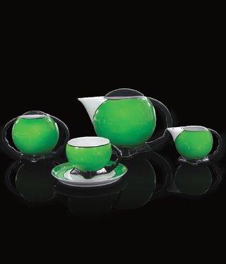 Cmielow - 1790 Glamor X - Tea Service 6/15 Green / Gold