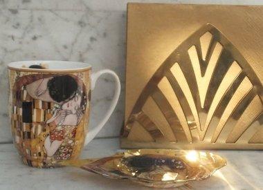 Gustav  Klimt - Kaffeetassen & Glas & mehr