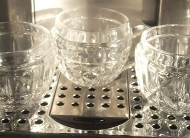 Collection C ...  glass cups & crystal glasses