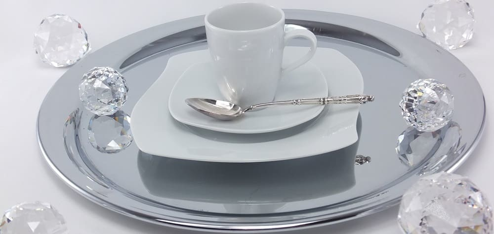 Marie - Christine - elegant porcelain collection for elegant offices, law firms or corporate events.
