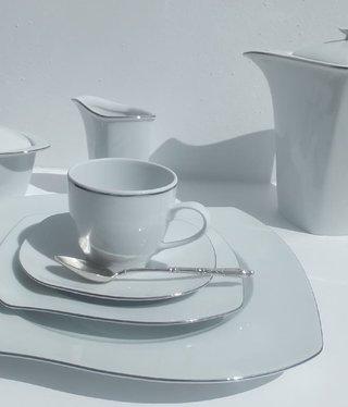 CRISTOFF -1831 Marie - Christine - Platin  Kaffeeservice 6/15