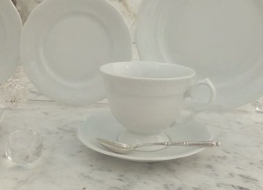 Marie - Josee porcelain line in white