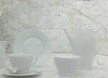 Marie - Blanche dinner set in white
