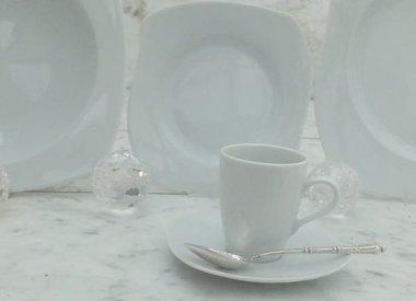 Marie - Christine - porcelain line in white