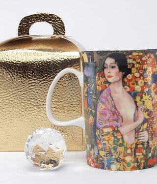 DELUXE by MJS Gustav Klimt -  The Dancer   Coffee Mug