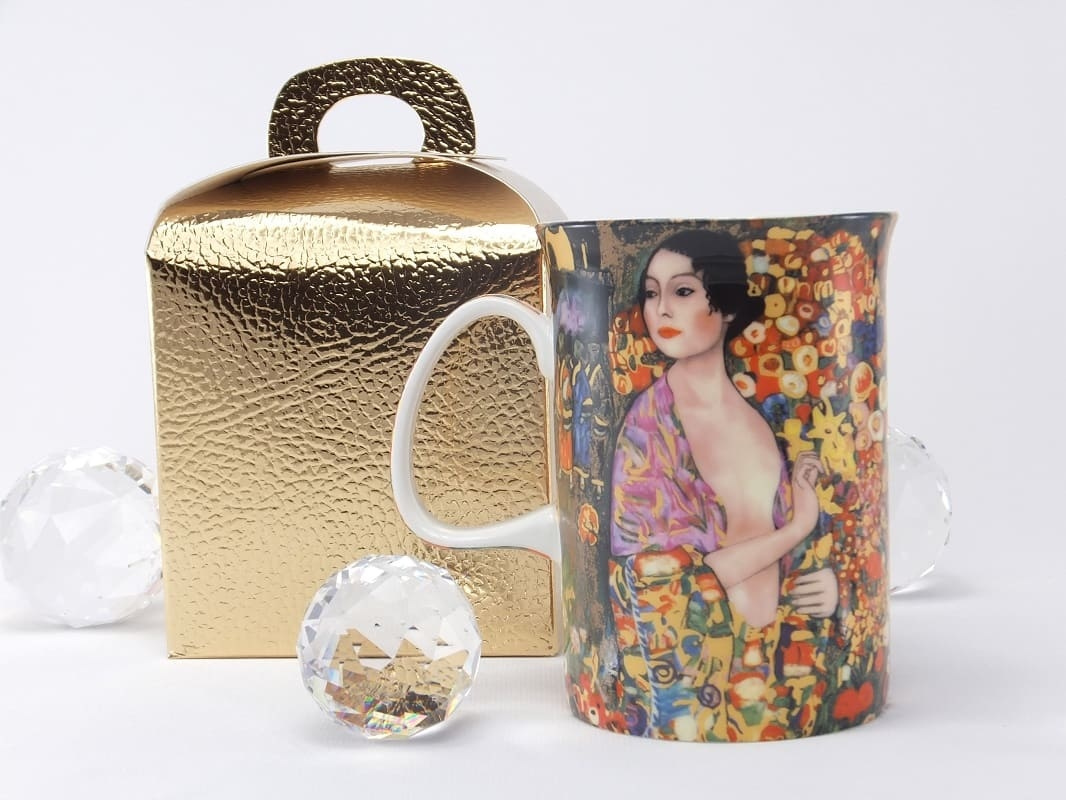 DELUXE by MJS Gustav Klimt -  The dancer coffee cup in gift box
