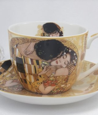 CARMANI - 1990 Gustav Klimt - Frühstücktasse  - Der Kuss