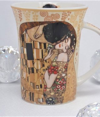 CARMANI - 1990 Gustav Klimt - The Kiss ecru - Coffee Cup X