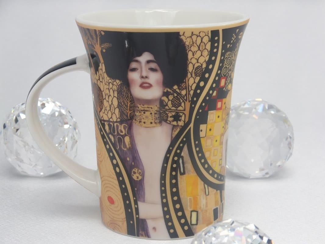 CARMANI - 1990 Gustav Klimt - The Kiss Collage Coffee Mug X