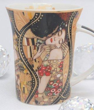 CARMANI - 1990 Gustav Klimt - Der Kuss Collage  - Kaffeetasse X