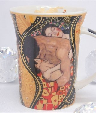 CARMANI - 1990 Gustav Klimt - The Family  Collage  - Kaffeetasse X