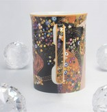DELUXE by MJS Gustav Klimt - The water snakes coffee cup in a gift box
