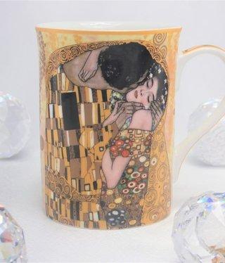 CARMANI - 1990 Gustav Klimt - Der Kuss  Ivory  - Kaffeetasse