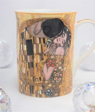 CARMANI - 1990 Gustav Klimt - The Kiss Ivory - Coffee Cup
