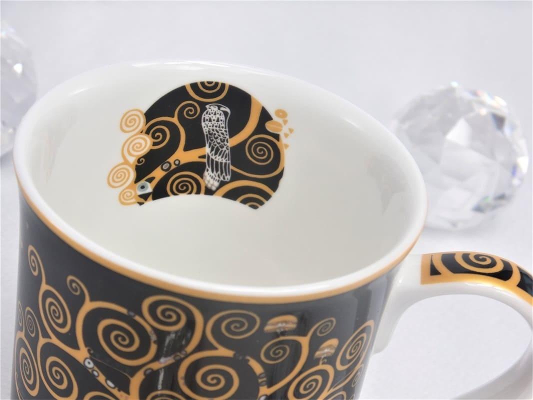 CARMANI - 1990 Gustav Klimt  - Lebensbaum   Kaffeetasse in Geschenkbox