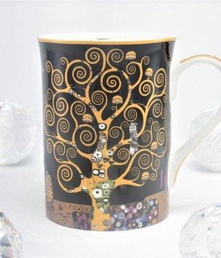 DELUXE by MJS Gustav Klimt - Lebensbaum   - Kaffeetasse