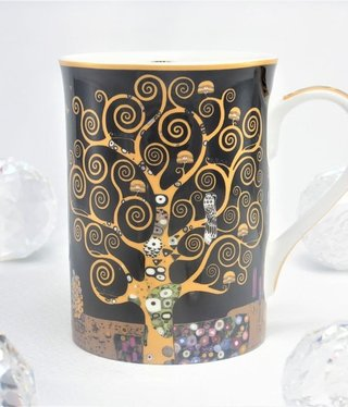 DELUXE by MJS Gustav Klimt - Tree of Life - Coffee Cup